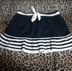 Vintage Marc Jacobs Striped Mini with Bow Skirt